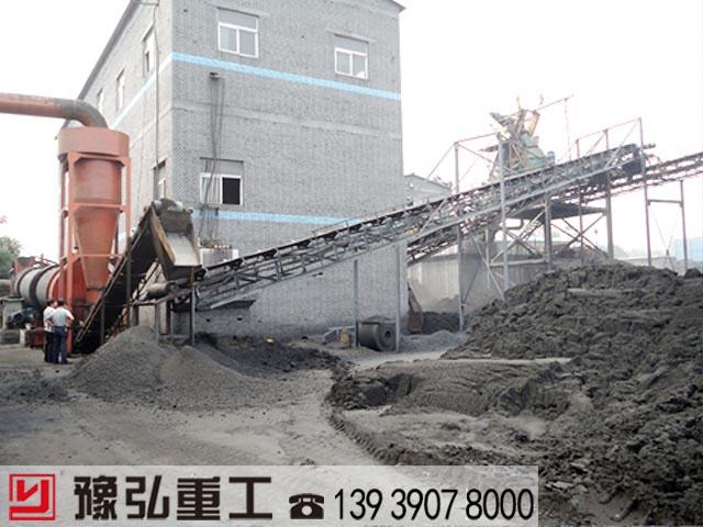 污泥干燥机使用现场照片